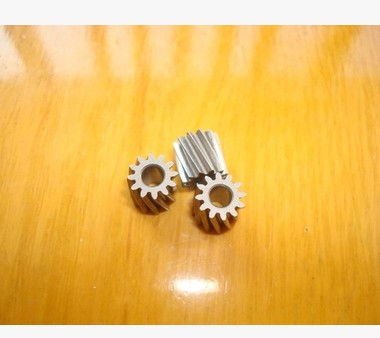 Free shipping/0.5m gear/5pcs 45# steel motor left-hand helical gear hobbing 12T-0.5M 3.14mm R hole/Meat Grinder Parts etc.