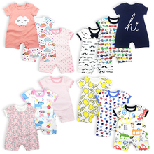 Mother post 3 Pcs/lot Newborn Clothes cotton Cartoon