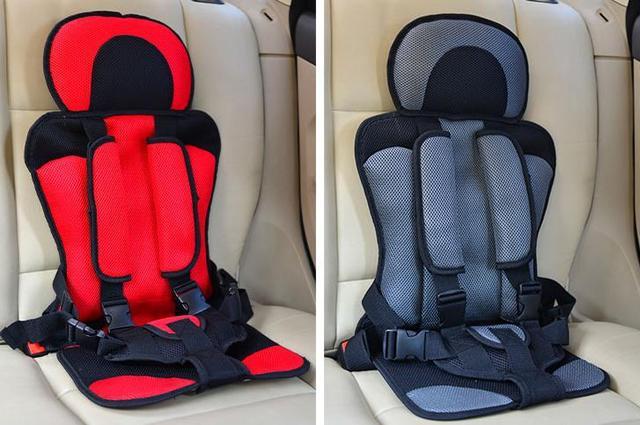 ¡ Promoción! Asiento de Seguridad de coche de Bebé, Asientos de Coche de Niño de Color Brillante para todos Los Bebés Encantadores Sale Barato, Asiento de Coche Portable Cinturón de seguridad de Bloqueo