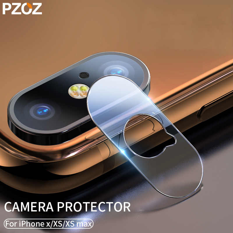 finest selection 888f8 b1744 PZOZ For iphone Xs Max Camera Lens Protector Protection Glass For phone Xs  Xsmax Lens Back Camera Screen Protector Film Xsmax