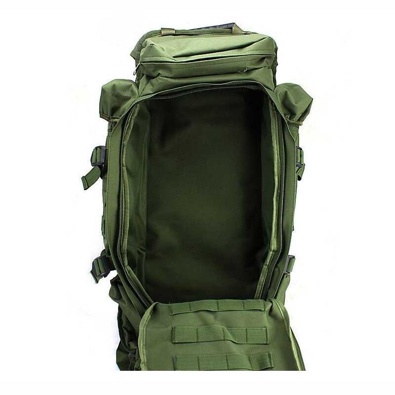 Вместительная Спортивная походная сумка для мужчин, военный тактический рюкзак для альпинизма, кемпинга, охоты, рыбалки, путешествий - 4
