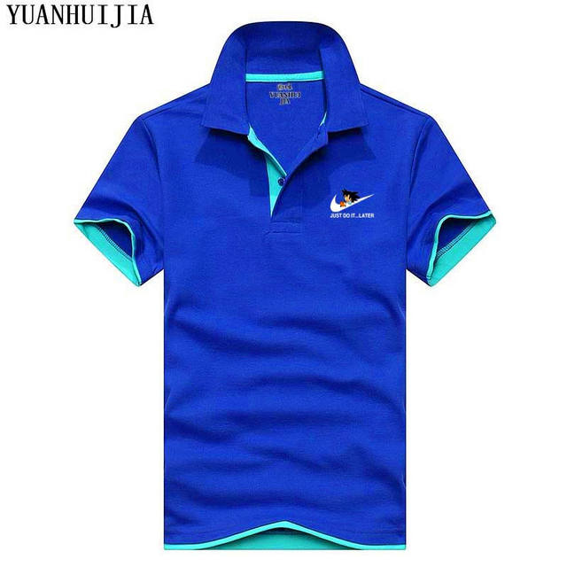 2018 Summer new breathable  Men Polo JUST DO IT Brand Clothing Male Fashion Casual Polo Shirts S-3XL free shipping