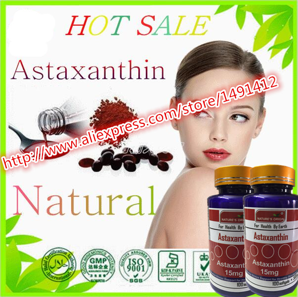 ФОТО (Buy 3 Get 1 Free)Natural astaxanthin powder 10% Antioxidant Support 100% ORGANIC PRODUCT 100 Softgel*500mg capsule