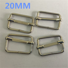 4375cdf53842a0 20 MILLIMETRI Regolabile Fibbia In Metallo FAI DA TE Lavorazione della  pelle Ferramenteria e attrezzi Rullo Cintura argento Plac.