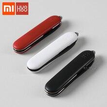 Xiaomi huozhou Mini cuchillo de desembalaje plegable cuchillo de fruta herramienta de campamento paquete abierto de exteriores y supervivencia cortador afilado Cuchillo huozhou