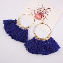 itenice Tassel Earrings For Women Ethnic Big Trendy