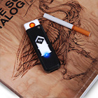 USB Electronic Rechargeable Battery Flameless Car Cigarette Lighter No flame Lighter No Gas/Fuel Lighter