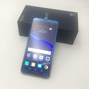 Image 3 - Honor V10, 4G, 64G view 10, оригинальный мобильный телефон, четыре ядра, 5,99 дюймов, двойная камера заднего вида, сканер отпечатков пальцев, NFC, honor v 10