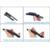 """Wiper blades para audi a8 (2003-2008), 24 """"+ 23"""" limpador tipo de ajuste de slides braços só hy-021"""