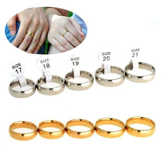 30Pcs/lot Men Women Wedding Ring 316L Stainless Steel 17-21mm Size Silver Plated Handmade Luxury Couple Set Rings Jewelry
