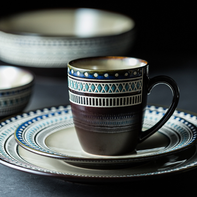 Bohemian Ceramic Tableware