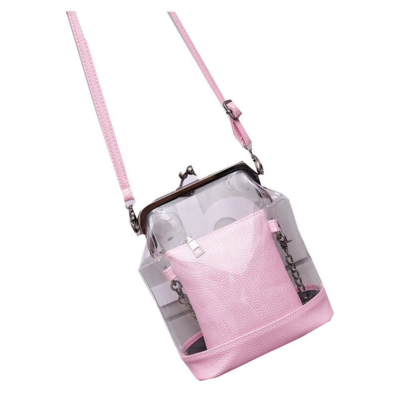 Sale Fashion Composite Bags set Transparent Crossbody Bags for Women Designer Su