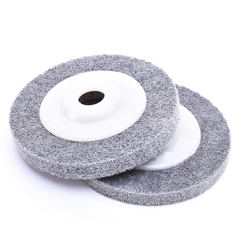 Nylon Grinding Disc 7P 180# Flap Wheel For Metal Finish Wood Polishing On Angle Grinder 100*12*16mm