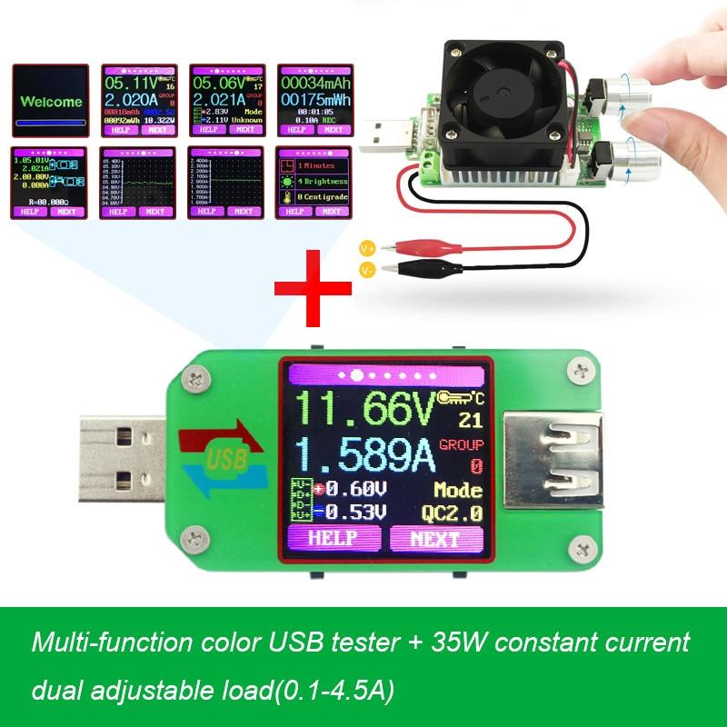 USB tester Bluetooth computer online DC Volt amp strom spannung meter kapazität monitor qc2.0 schnellen Aufladeeinheitsenergienbank detektor