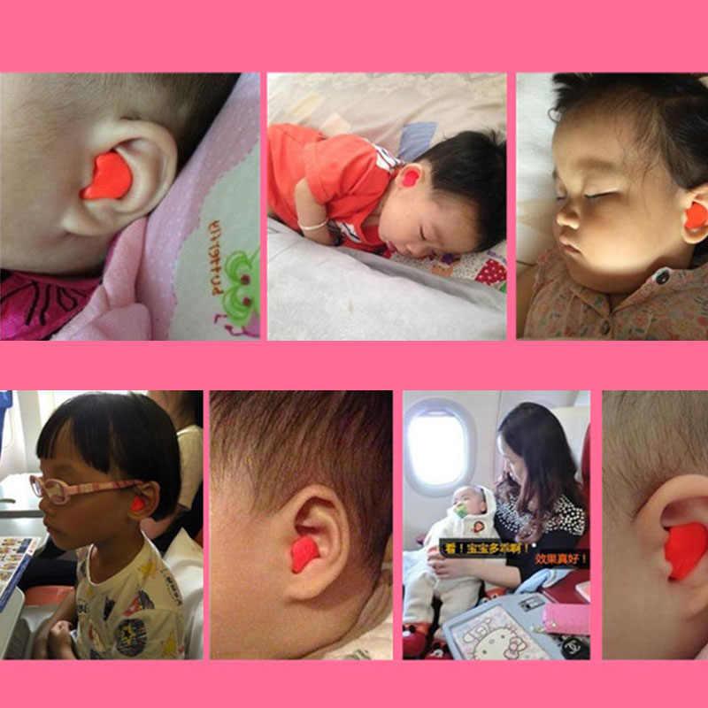 orange baby earplugs soft