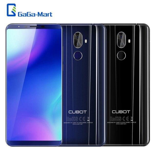 CUBOT X18 Plus 4G мобильный телефон FHD + 18:9 Восьмиядерный 4 Гб + 64 Гб задняя камера 20MP + 2.0MP фронтальная камера 13MP Распознавание отпечатков пальцев