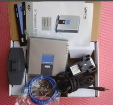 Linksys PAP2T-NA sip voip телефонный адаптер телефона voip linksys PAP2T интернет телефон адаптер двумя телефонными Порты без коробку