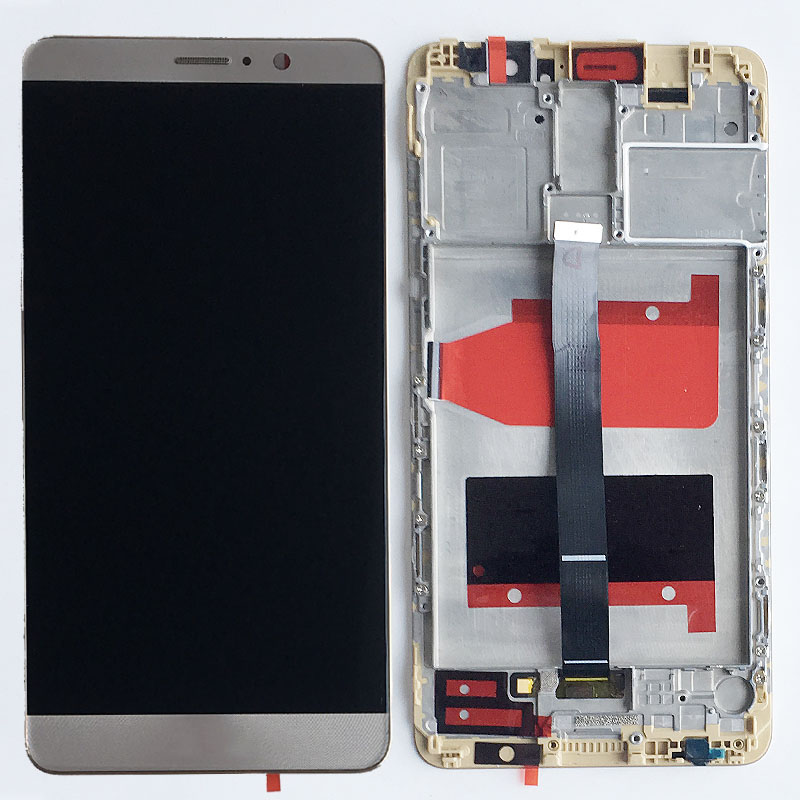 Gold LCD Display Glass Touch Screen Digitizer Assembly+Frame For Huawei Mate 9 MHA-L09 L29 NEW Gold LCD Display Glass Touch Screen Digitizer Assembly+Frame For Huawei Mate 9 MHA-L09 L29 NEW