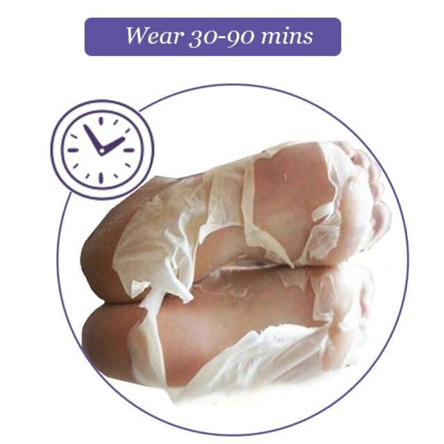 1 Pair Baby Feet Exfoliating Foot Mask Skin Peeling Dead Skin Feet Mask Socks Soak Socks for Pedicure Socks Foot Cream for Heels 3