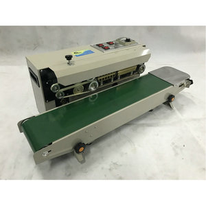 Image 3 - FR 900S Heat Sealing Machine for Snack Pouches, Aluminum Foil Bags, Candy Wrapper  PP, PVC, POF film bags band sealer