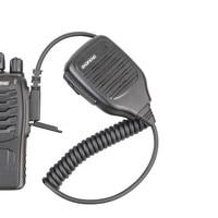baofeng uv 5r uv 100% מקורי Baofeng מכשיר הקשר אביזרים UV-5R רמקול מיקרופון MIC Pofung BF-888S UV-5RE דו כיוונית רדיו תקשורת (1)