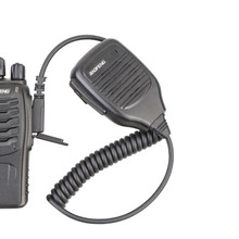 100% Original Baofeng Walkie Talkie Accessories UV-5R Speaker Microphone MIC Pofung BF-888S UV-5RE Two-way Radio Communication