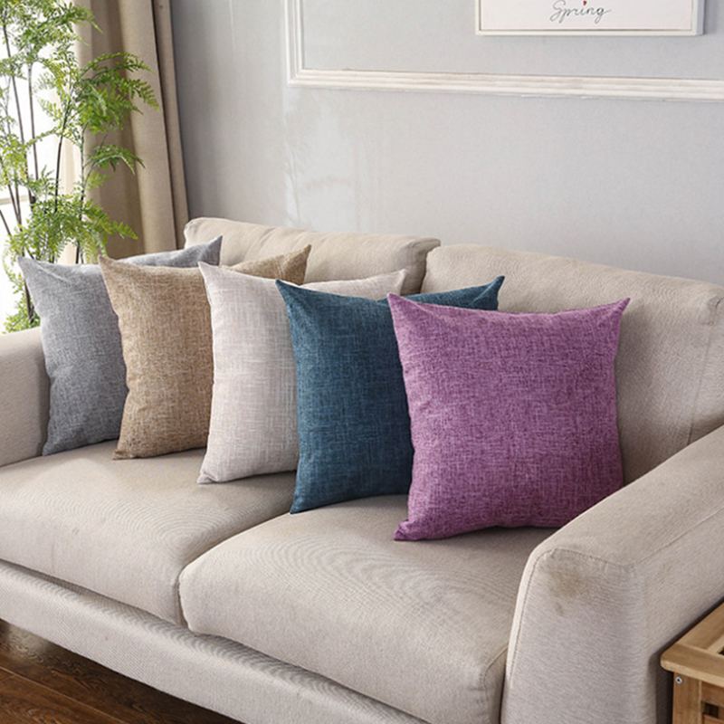 Sofa Cushions That Hold Up Cushion Cover Explosion Models Cotton And Linen Cushions