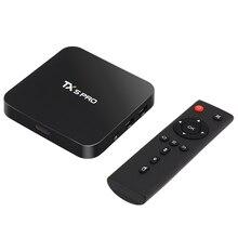 Горячая TX5 Pro Android 6.0 TV BOX Mini PC 2 Г/16 Г Amlogic S905X медиа-Проигрыватель HD 4 К Полностью Двойной Wi-Fi Quad core Set Top TV коробка