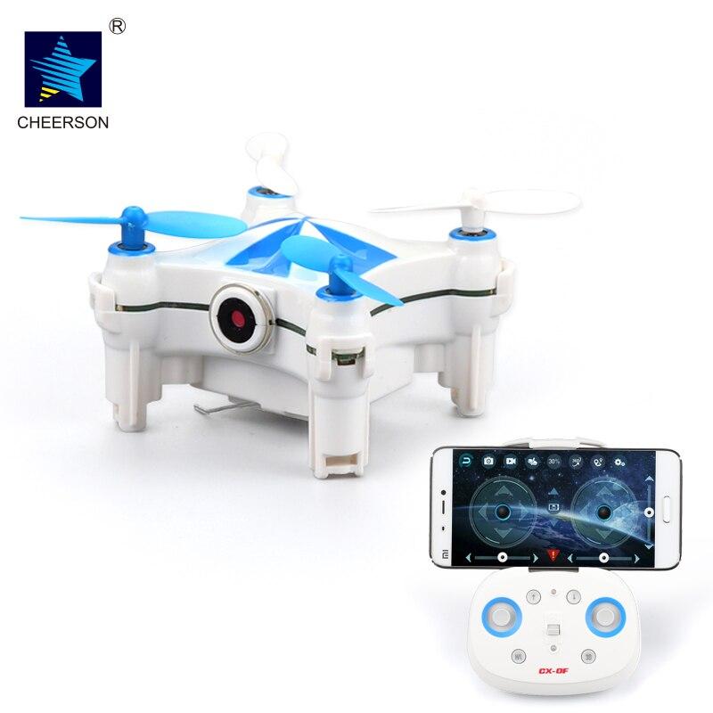Cheerson CX-OF CXOF CX OF Wifi FPV Optical Flow Dance Mode Mini Slefie RC FPV Quadcopter Camera Drones Gift BNF / RTF cheerson cx 10wd mini wifi fpv rc quadcopter bnf gold