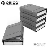 ORICO 3 5 Inch Simple EVA HDD Protector Box HDD Case Waterproof Shockproof Antistatic Slot Design