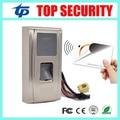 IP65 impermeable al aire libre uso de la huella digital y control de acceso de tarjetas RFID atención del tiempo ZK TCP/IP de la puerta de control de acceso MA300