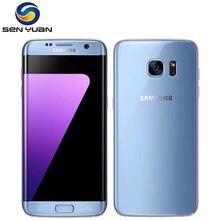 Original desbloqueado samsung galaxy s7 edge g935f/g935v celular 4gb ram 32g rom quad core wifi gps 5.5 121212mp lte telefone celular