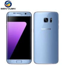 Original desbloqueado samsung galaxy s7 edge g935f/g935v celular 4gb ram 32g rom quad core wifi gps 5.5 1212mp lte