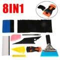 Praktische 8 in 1 Auto Fenster Tönung Tools Kit Für Vinyl Film Tönung Rakel Multicolor Für Hause Auto Werkzeuge