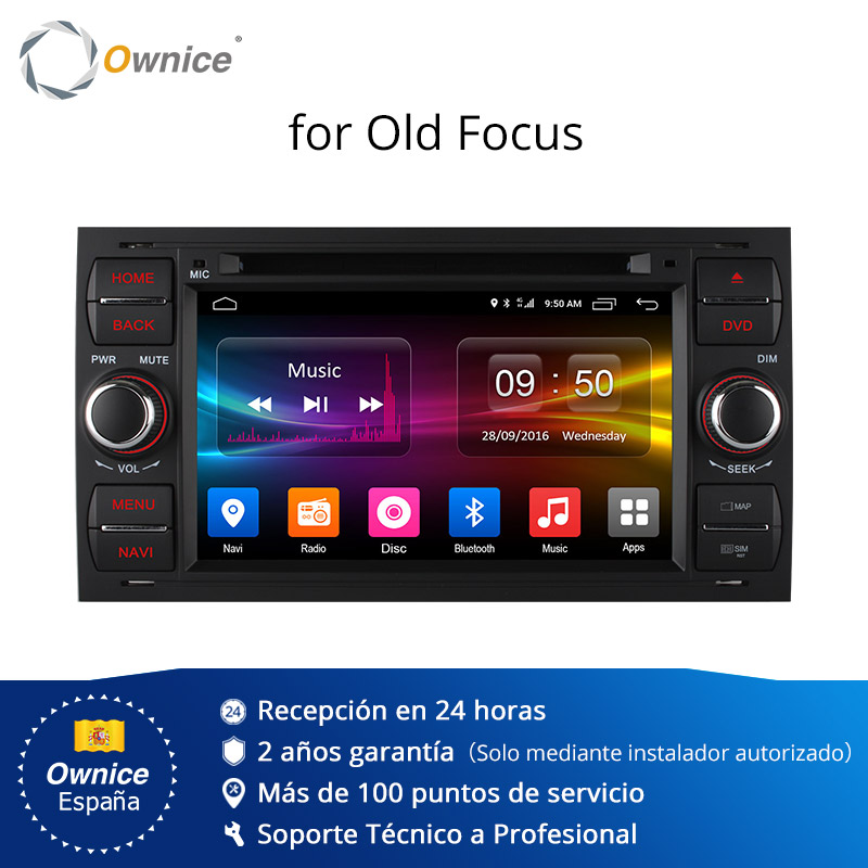 Ownice C500 Android 6.0 Octa 8 Core In Dash Car Radio Player For Ford Mondeo Focus Transit C MAX GPS Navi Radio Support 4G LTE