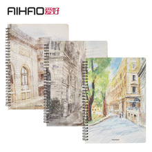 AIHAO Composition book Notebooks Diary Coil/Spira  Soft Copybook Stationary School & Office supplies EC05