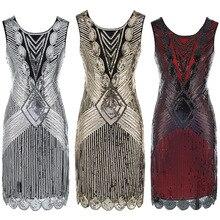 Топ золотого, красного, черного цвета, винтажная расшитая блестками сексуальная женская одежда для выпускного вечера, коктейльные платья, вечерние платья, vestido de festa Curto De Luxo 64450