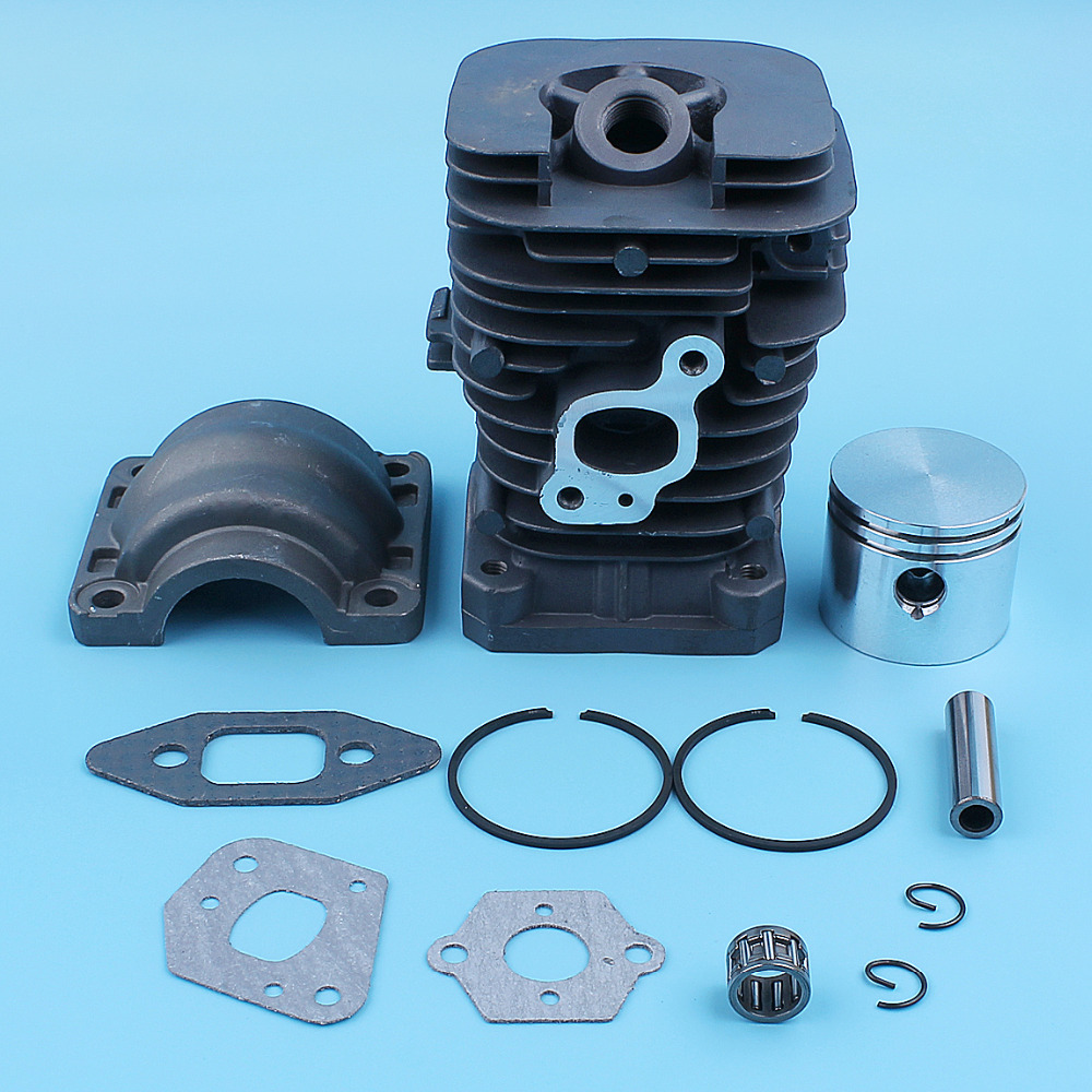 41.1mm Cylinder Piston Bearing Kit For Partner Formula 400 / 5000 350 351 352 370 371 390 401 420 Chainsaw Replacement Parts