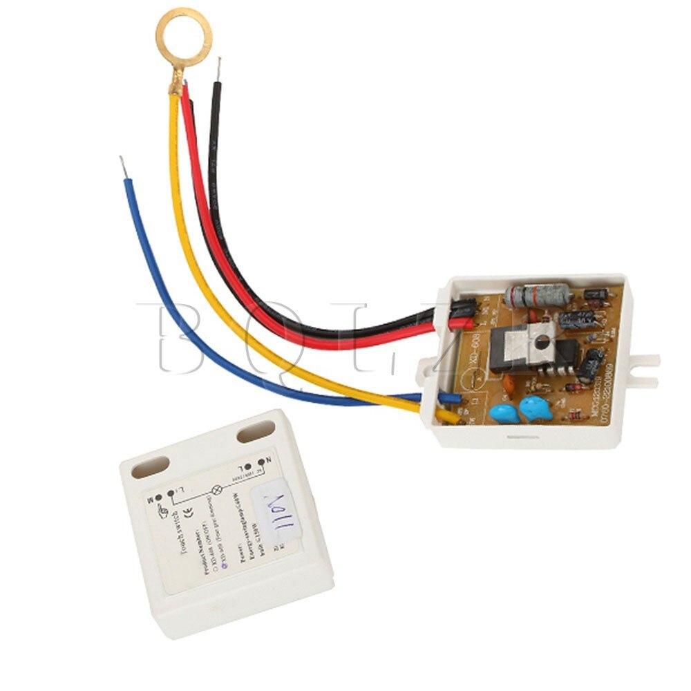 10xBQLZR White 4 Way ONOFF Touch Dimmer Switch Control Sensor 150W