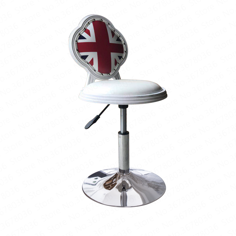 NO Bar Chair Modern Simple High Bench Mobile Phone Shop Stool Back Home Lift Tabouret De Moderne Counter Furniture Minimalist
