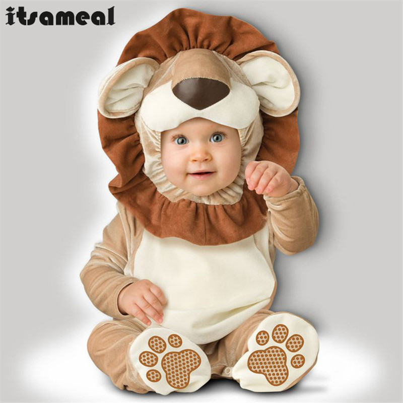 Infant Deluxe King Of Beasts Lion Simba Halloween Costume Perfect Little Baby Outfit Comfy And Cozy