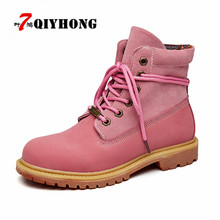 2018 Spring/Autumn Boots Couple High Quality Comfortable Brand Casual Shoes Womens Work Ankle Safety Rubber