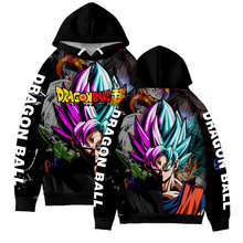 Dragon Ball 3D Hoodies Men Fashion Anime Sweatshirts New Style Exclusive Hot Leisure HIP HOP Streetwear