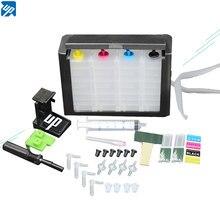 Ciss Tinte Kits für HP 122 für Deskjet 1000 1050 2000 2050s 3000 3050A 3052A 3054 1010 1510 2540 drucker 122XL tinte patrone