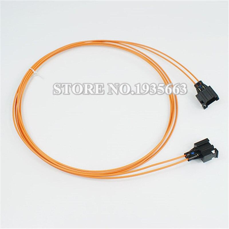MOST Optical Fiber Cable Female To Female Connector For BMW Audi Benz Porsche etc. 100cm