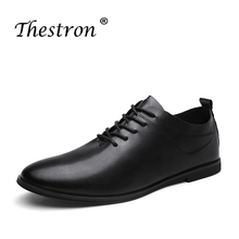 Man Casual Shoes Spring Autumn Mens Split Leather Shoes White Black Retro Male Flat Footwear Anti-Slip Elegant Shoes Men spring autumn 2018 breathable thick platform man shoes genuine leather mens footwear white casual male shoes plus size us 6 9 5