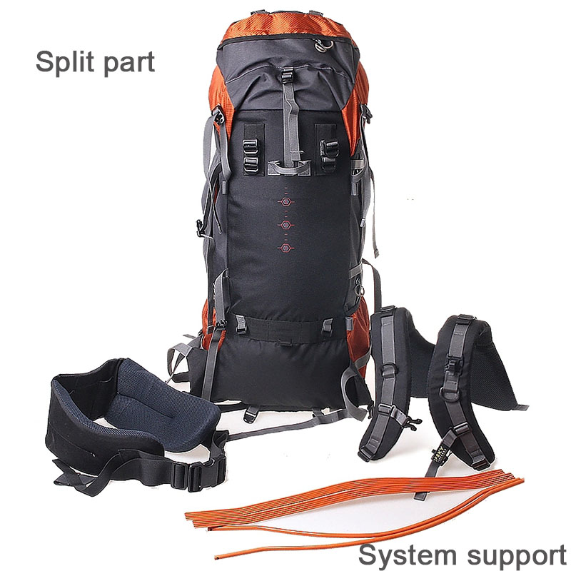 adf68164955c Topsky 75L sport backpack climbing Hiking backpack Men women Travel Luggage  large capacity sports bags Free Shipping-in Climbing Bags from Sports ...