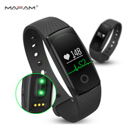 Smart Bracelet Bluetooth Smartband Heart Rate Monitor Flex Wristband Fitness For Android IOS Apple PK Band