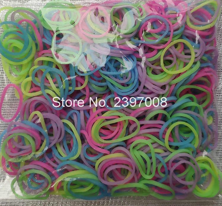 Bands loom braccialetto di gomma per i bambini o dei capelli arcobaleno bande telaio di gomma fare braccialetto tessuto FAI DA TE giocattoli Regalo Di Natale
