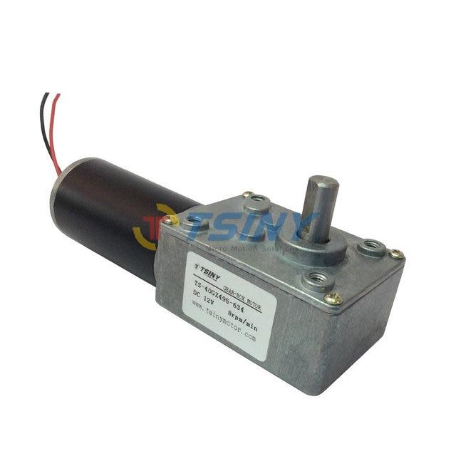 12v8rpm min dc 12 volt motor speed reducer metalen for 12 volt dc right angle gear motor